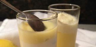 Mousse au citron et mascarpone avec thermomix